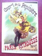 CPM    François Nugeron  Concert De La Pépinière  Paris Retroussé - Advertising