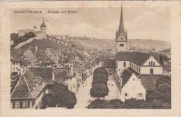 SWITZERLAND - Schaffhausen - Munster Und Munot - SH Schaffhausen