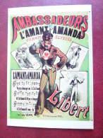 CPM    François Nugeron  AMBASSADEURS  L'Amant D'Amanda    Champs Elysees - Advertising