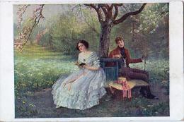 AK KÜNSTLERKARTE MÄDCHEN, SIGNIERT KARTE :KOCH,M.J.S. 038.ASICHTSKARTEN - Couples