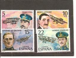 España/Spain-(MNH/**) - Edifil  2595-98 - Yvert  2229-32 - 1931-Hoy: 2ª República - ... Juan Carlos I