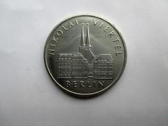 DDR 5 Mark, 1987 Berlin - Nikolai Quarter - 5 Marcos