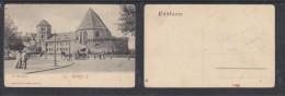 GERMANY SAXONY-ANHALT , HALLE A/S; DIE MORITZBURG - Halle (Saale)