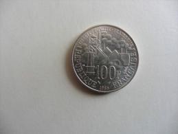 France : 100  Francs  Argent Emile Zola  1985 - France