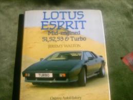 Lotus Esprit Mid-engined S1,S2,S3 & Turbo - Jeremy Walton - 1950-Now