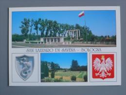 Bo2707)  S. Lazzaro Di Savena - Bologna - Cimitero Dei Soldati Del 2° Corpo Polacco - Bologna