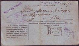 ITALIA -  VENEZIA  CENTRO  To  ISTRIA  - 1941 - Storia Postale