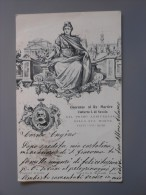 &a1023)  Onoranze Al Re Martire Umberto I Di Savoia Nel Primo Anniversario Della Sua Morte - Case Reali