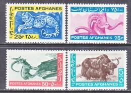 AFGHANISTAN   683-6      *   FAUNA  ANIMALS - Afghanistan