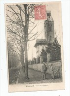 Cp , 92 , CLAMART , Rue De MEUDON , Voyagée - Clamart