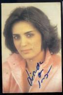 Autographe Original Sur Photo Linda De Suza  JA15 48 - Autographes