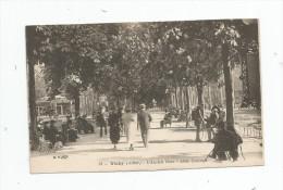 Cp , 03 , VICHY , L'ancien Parc , Allée Centrale , écrite - Vichy