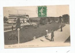 Cp , 03 , VICHY , Le Nouveau Parc Et La CIGALE , Voyagée - Vichy