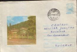 Romania - Postal Stationery Cover 1978 Used - Sovata - Culture House - Postal Stationery