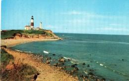 Postcard - Montauk Point Lighthouse, New York. SP10232 - Faros
