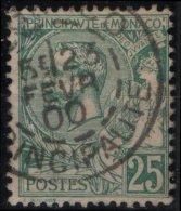 MONACO   16(o)  Prince Charles III Typographié + Magnifique Cachet (cote 40 €) 4 - Monaco