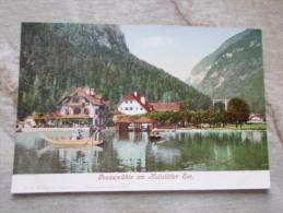 Austria  -  HALLSTATT - Gosaumühle Am Hallstätter See  - Ca 1898-1905    D128029 - Hallstatt