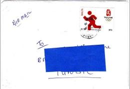 Z] Enveloppe Cover Malte Malta Olympics Jeux Olympiques Pékin 2008 Beijing - Malte