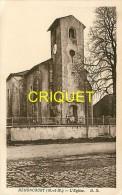 Cpa 54 Méhoncourt, L'Eglise, Groupe De Filles Sous Le Porche, Carte Pas Courante - France