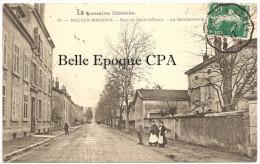 54 - NEUVES-MAISONS - Rue De Neufchâteau - La Gendarmerie ++++ Édition Paquis, #17 +++ Vers Paris, 1912 +++ RARE - Neuves Maisons