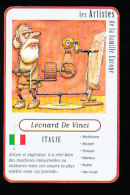 Humour Léonard De Vinci / Tableau La Joconde / Art Peinture  // IM 158 - Documentos Antiguos