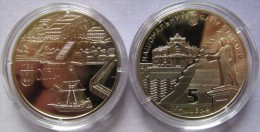 "Ukraine - 5 Grivna Coin 2014 ""220 Years Of The City Of Odesa"" UNC - Ucraina"