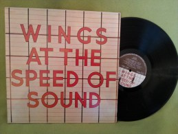 Wings / Mc Cartney 33t Vinyle At The Speed Of Sound - Collectors