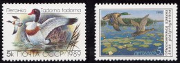 2 Timbres  D´  U.R.S.S.1989/90   ´  Neufs** MNH  ´   Canards