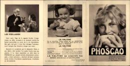 CHOCOLAT - PHOSCAO - Feuillet Publicitaire - Santé - Médicament - - Publicités