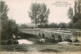 THIRE - LE PONT SUR LA SMAGNE - ANIMATION - France