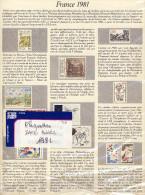 PLAQUETTES De SAFE Année 1981 à 50% Du Neuf - Albums & Reliures
