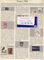 PLAQUETTES  SAFE FRANCE 1986 à 1989  ETAT Neuf - Albums & Reliures