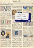 PLAQUETTES  SAFE FRANCE  1990  à 1999   à 30% Du Neuf - Albums & Reliures