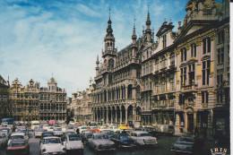 CPSM  AUTO VOITURE  PANHARD PL17 DS CITROEN AUTRES BRUXELLES GRAND PLACE - Turismo