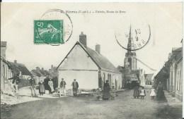 YEVRES - Entrée Route De Brou - France