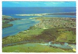 RB 1024 -  Australia New South Wales Postcard -  Aerial View Of Entrance To Richmond River - Ballina - Australie