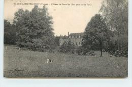SAINT AUBIN CHATEAUNEUF - Châreau De Fourolles (vue Prise Du Parc). - France