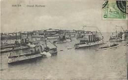 - Ref F383 - Malte - Grand Harbour - Bateau - Bateaux - Marine Militaire - Carte Bon Etat - - Malte
