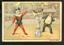 Chromo ( 3969 )   Liebig 212  -  cirque  circo  circus  - Anno 1888