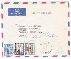 Saudi-Arabien Flugpost Brief Von AL TAIF 7.3.1964 Nach Villach Österreich - Arabie Saoudite