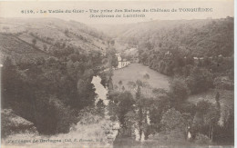 Tonquedec (cotes D'armor) Vallée Du Guer - Vue Prise Des Ruines Du Château - Tonquédec