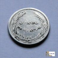 El Salvador - 5 Centavos - 1892 - El Salvador