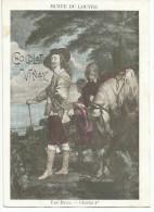 CHROMOS CHOCOLAT VERNAY - PEINTURES DU MUSEE DU LOUVRE - VAN DYCK: CHARLES 1er. - Chocolate