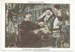 CHROMOS CHOCOLAT VERNAY - PEINTURES DU MUSEE DU LOUVRE - JAN FICTOOR: ISAAC BENISSANT JACOB. - Chocolate