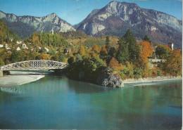 Reichenau Tamins - Zusammenfluss Vorder- Und Hinterrhein, Kunkelspass              1972 - GR Graubünden