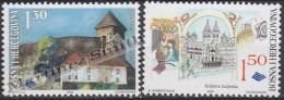 Bosnia Hercegovina - Bosnie 2000 Yvert 326-27, History, Historical Buildings - MNH - Bosnia And Herzegovina