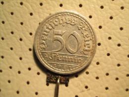 GERMANY 50 Reichspfening 1921      # 1 - [ 3] 1918-1933 : Weimar Republic