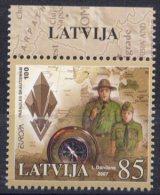 Europa - 2007 - Lettonie Latvija ** - Europa-CEPT
