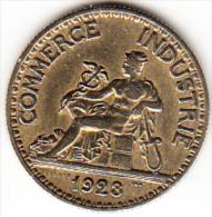 FRANCIA 1923.  50  CENTIMES CHAMBRES DE COMMERCE  EBC (SUP)  CN4198 - G. 50 Centimes