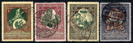 RUSSIA 1914 War Charity Set Of 4  With Cheapest Perforations, Used.  Michel 99-102 - 1857-1916 Empire